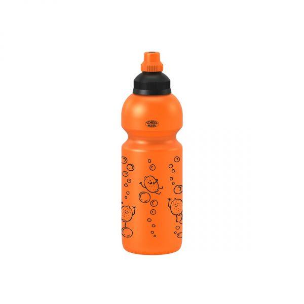 School-Mood TRINKFLASCHE orange