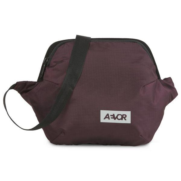 AEVOR HIP BAG PLUS ripstop ruby