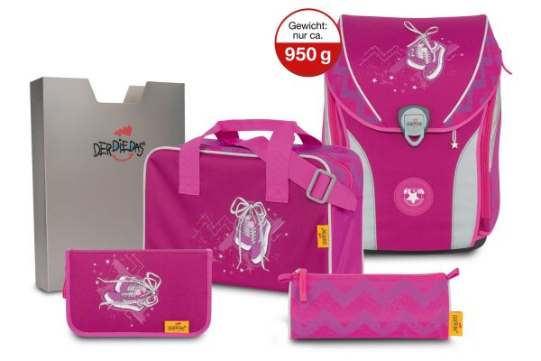 DerDieDas ERGOFLEX MAX Set 5-tlg. pink sneaker