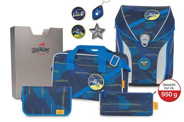 DerDieDas ERGOFLEX MAX Set 5-tlg. blue laser
