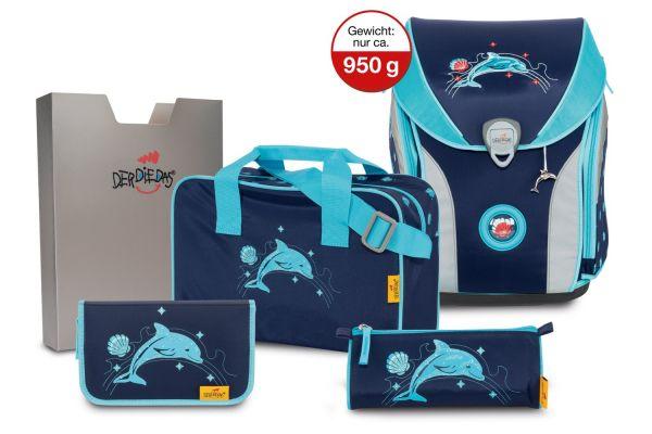 DerDieDas ERGOFLEX MAX Set 5-tlg. glitter dolphin