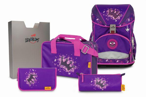 DerDieDas ERGOFLEX Set 5-tlg. purple princess