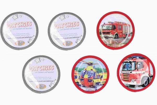 School-Mood PATCHIES 6-tlg. Feuerwehr